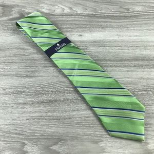 Stafford Green Stripe Tie